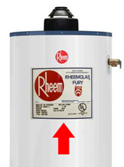 rheem water heater 40 gallon. how to locate and read your rheem water heater serial number 40 gallon