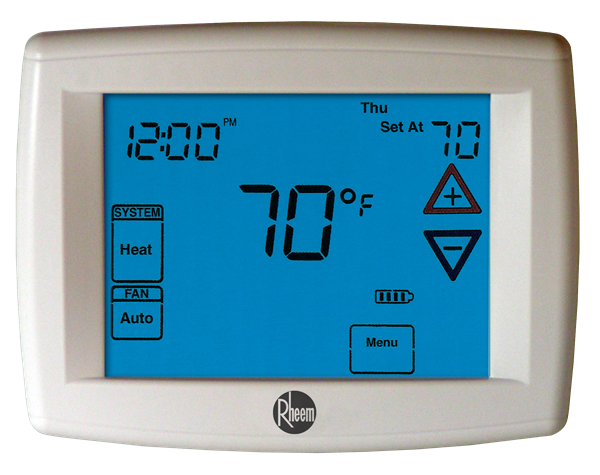 how to change a thermostat in a rheem stellar