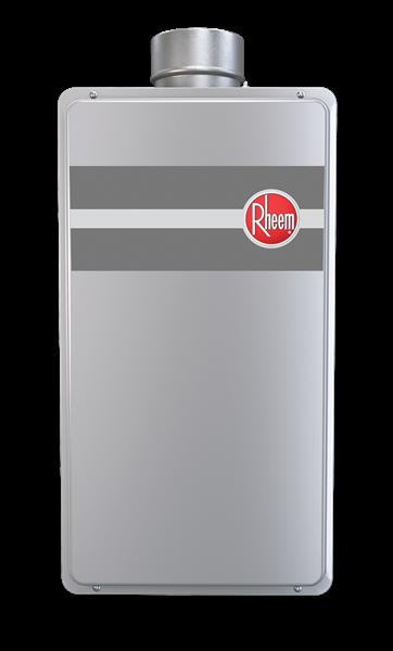 Rheem Tankless Mid Efficiency 84 Direct Vent Indoor Series