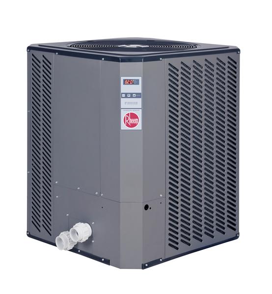 Rheem specialty heat pump pool heaters series for Pool heater