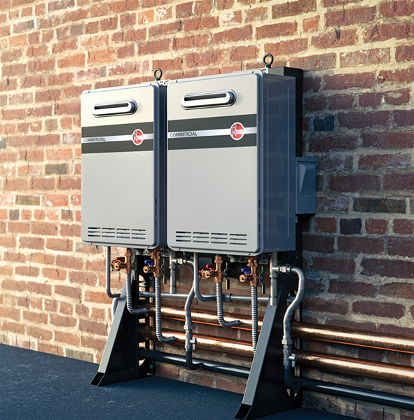 Rheem Commercial Tankless System Wall Mounted Series