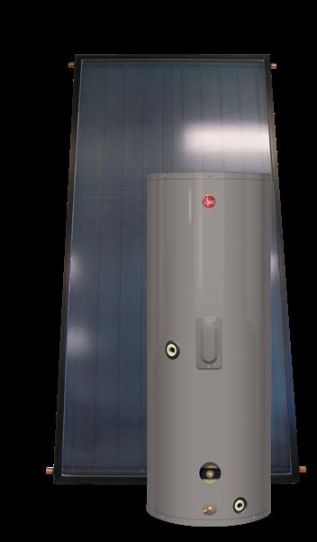 Rheem Solpak With Electric Backup Series
