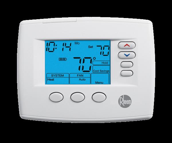 Rheem 200 Series Programmable Thermostats Series