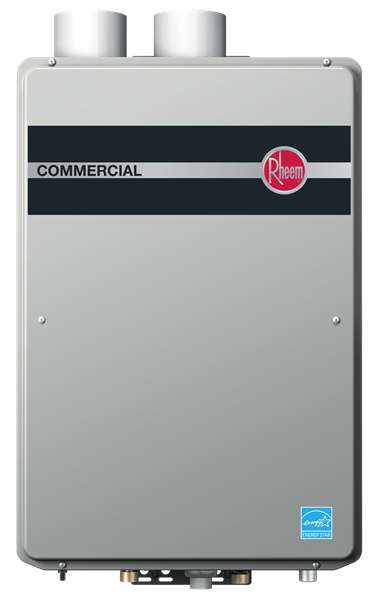 Rheem Commercial Condensing Tankless Indoor Series