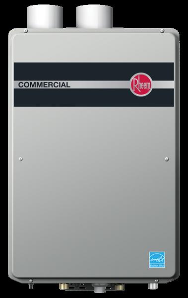 Rheem Commercial Condensing Tankless Indoor Series